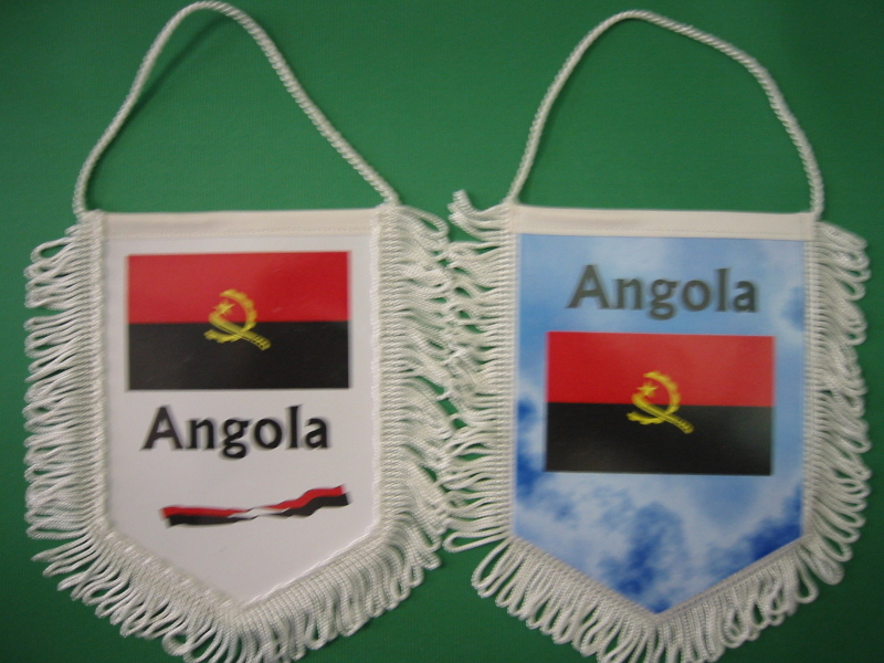 Banner Nationalbanner Autobanner Autowimpel Groesse 10/15 Angola