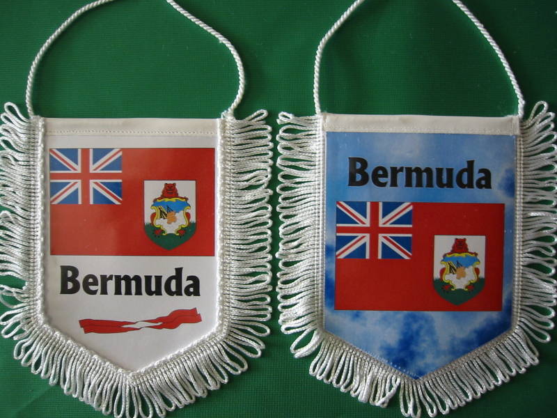 Banner Nationalbanner Autobanner Autowimpel Groesse 10/15 Bermuda