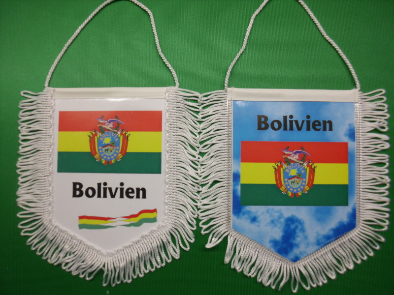 Banner Nationalbanner Autobanner Autowimpel Groesse 10/15 Bolivien