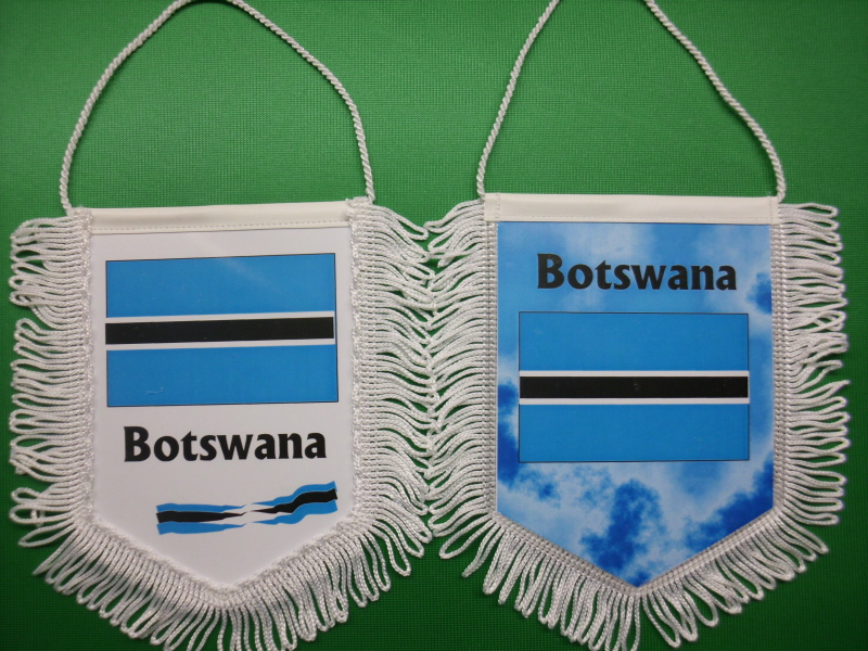 Banner Nationalbanner Autobanner Autowimpel Groesse 10/15 Botswana