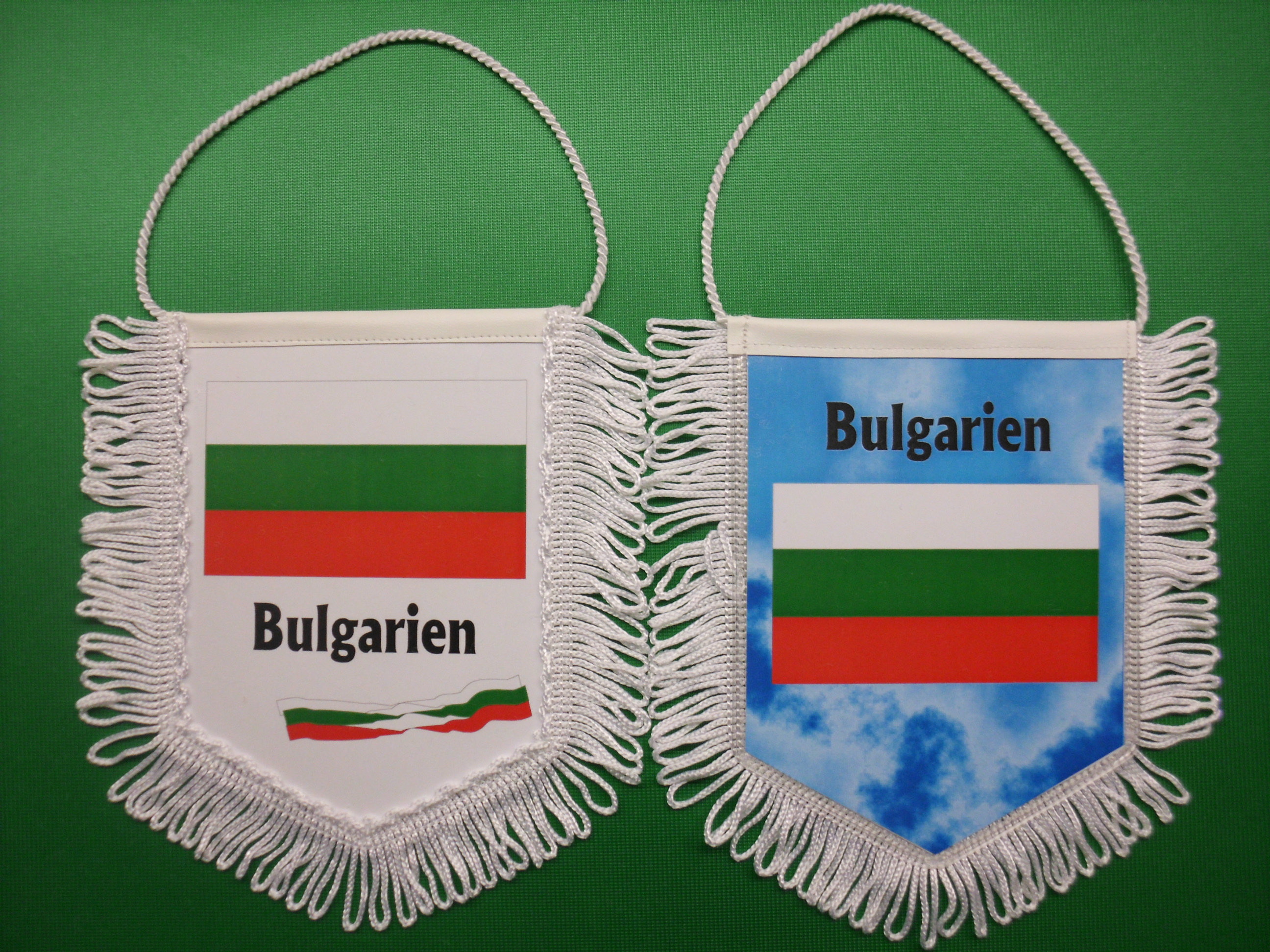 Banner Nationalbanner Autobanner Autowimpel Groesse 10/15 Bulgarien
