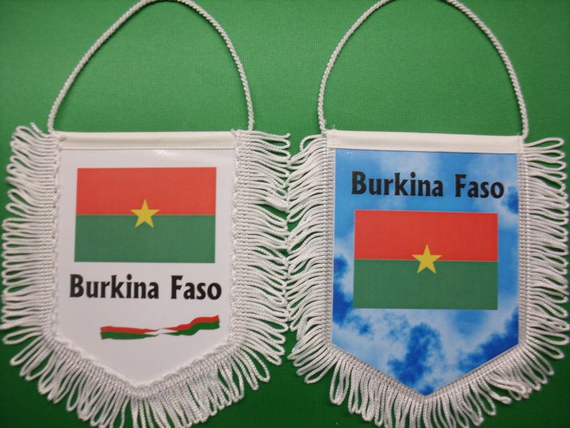 Banner Nationalbanner Autobanner Autowimpel Groesse 10/15 Burkina Faso