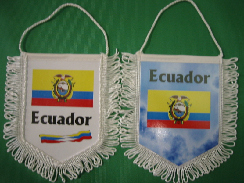 Banner Nationalbanner Autobanner Autowimpel Groesse 10/15 Ecuador
