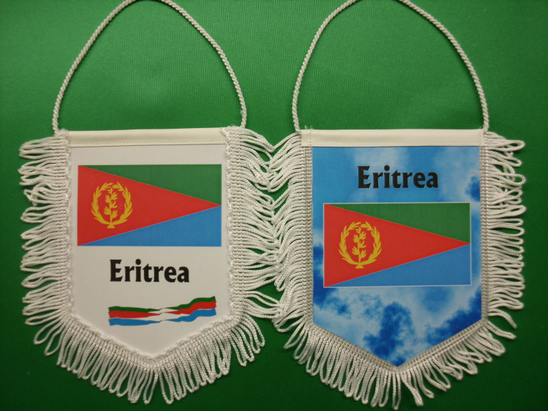 Banner Nationalbanner Autobanner Autowimpel Groesse 10/15 Eritrea