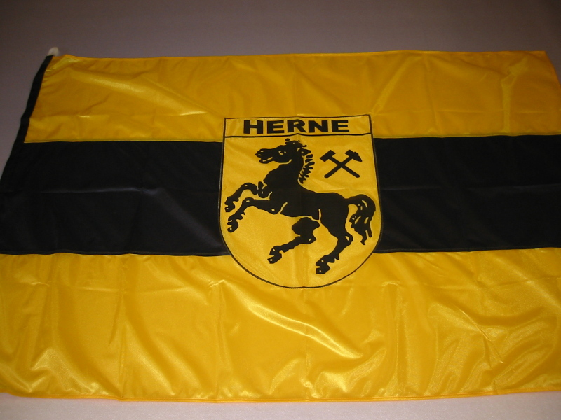 Hissfahne  Fahne Flagge Groesse 100/150 Herne