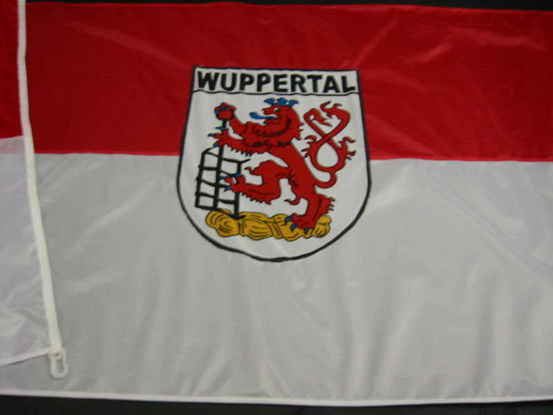 Hissfahne  Fahne Flagge Groesse 100/150 Wuppertal