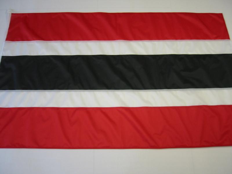 Fahne Rot Weiss Schwarz Weiss Rot Gr 100 150 Cm