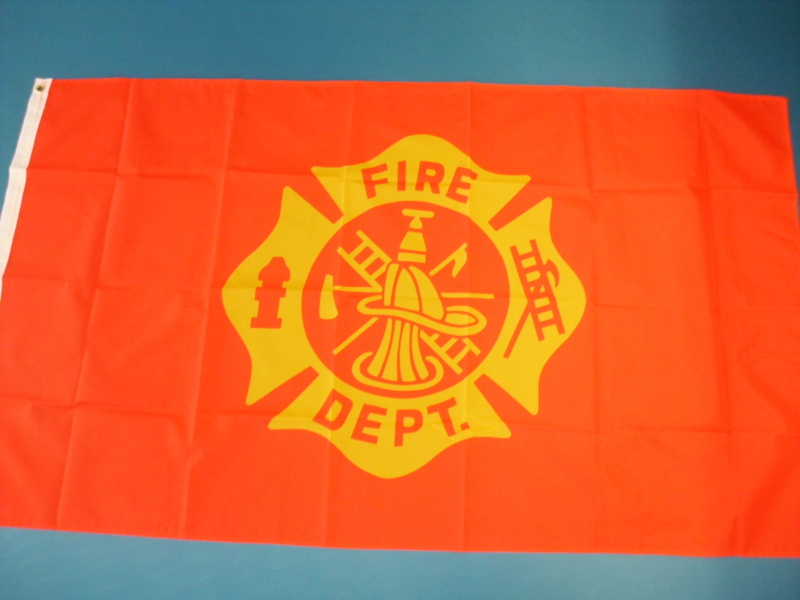 Hissfahne Dekofahne Flagge Groesse 90/150  Fire Department
