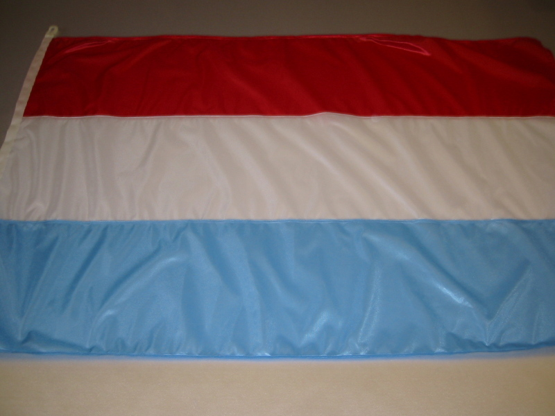 Hissfahne Fahne Flagge Nationalfahne Groesse 100/150 Luxemburg