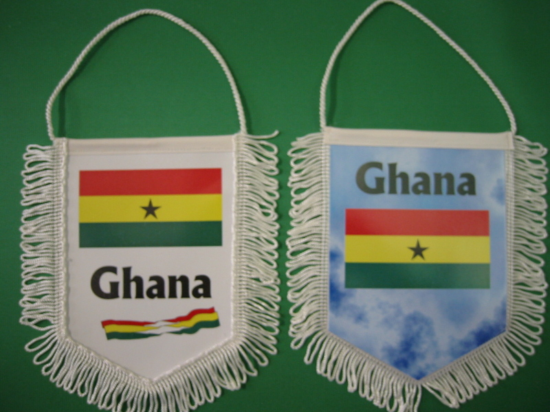 Banner Nationalbanner Autobanner Autowimpel Groesse 10/15 Ghana