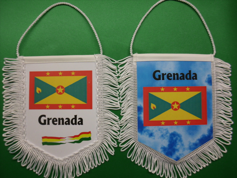 Banner Nationalbanner Autobanner Autowimpel Groesse 10/15 Grenada
