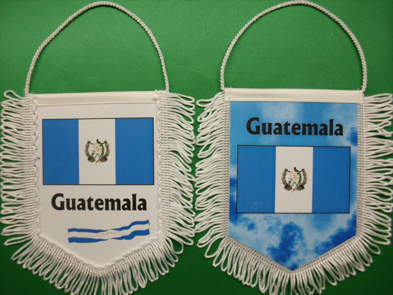 Banner Nationalbanner Autobanner Autowimpel Groesse 10/15 Guatemala