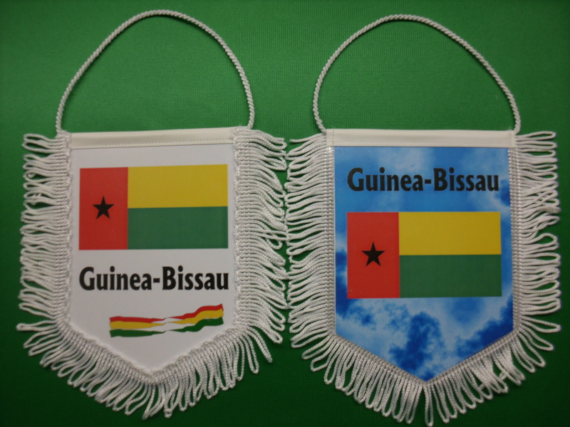 Banner Nationalbanner Autobanner Autowimpel Groesse 10/15 Guinea-Bissau