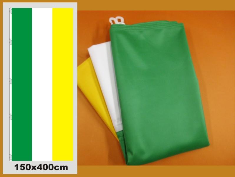 Fahne Grün Weiß Gelb