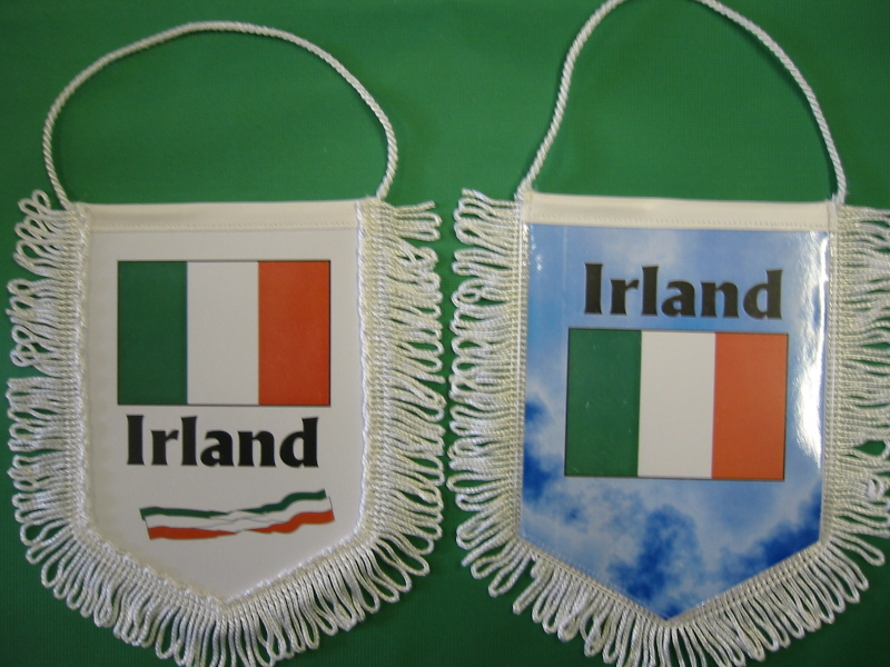 Banner Nationalbanner Autobanner Autowimpel Groesse 10/15 Irland