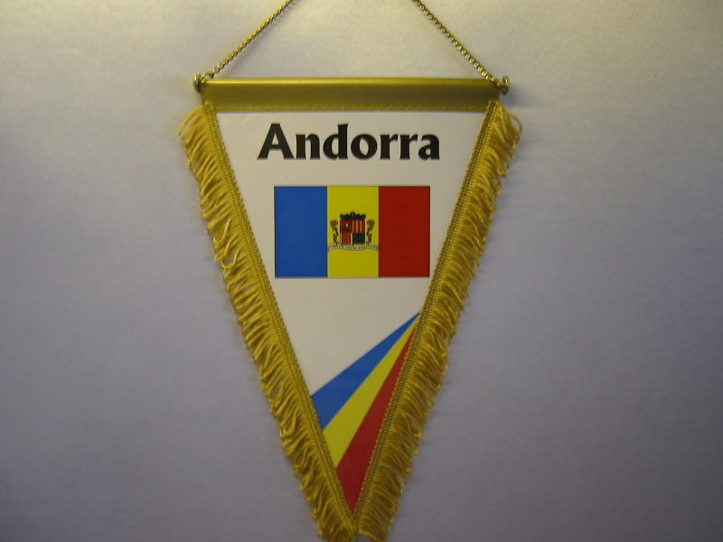 Wimpel Groesse 20/28 Andorra