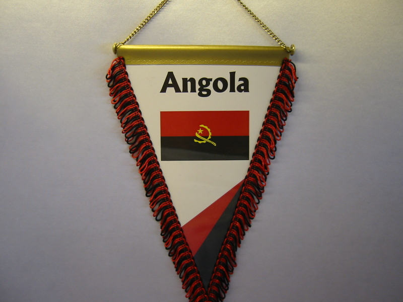 Wimpel Groesse 20/28 Angola