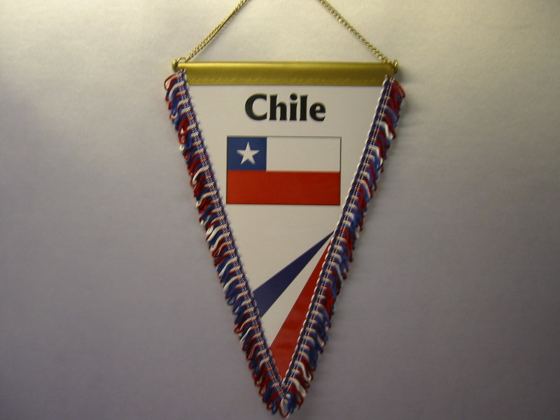 Wimpel Groesse 20/28 Chile