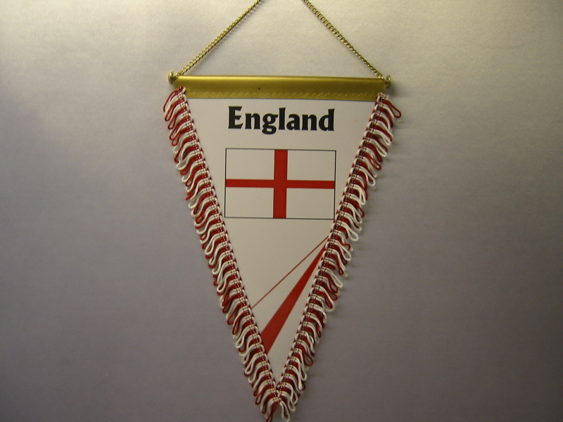 Wimpel Groesse 20/28 England