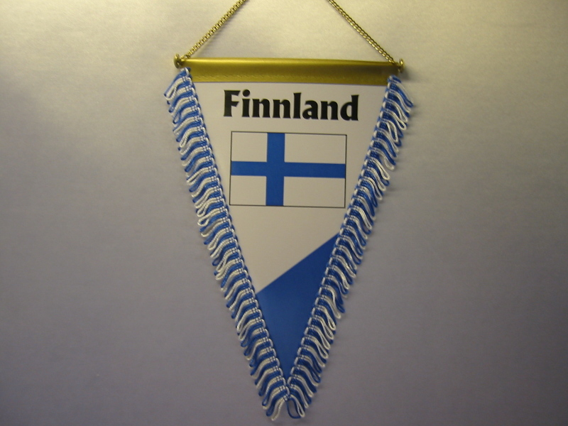 Wimpel Groesse 20/28 Finnland