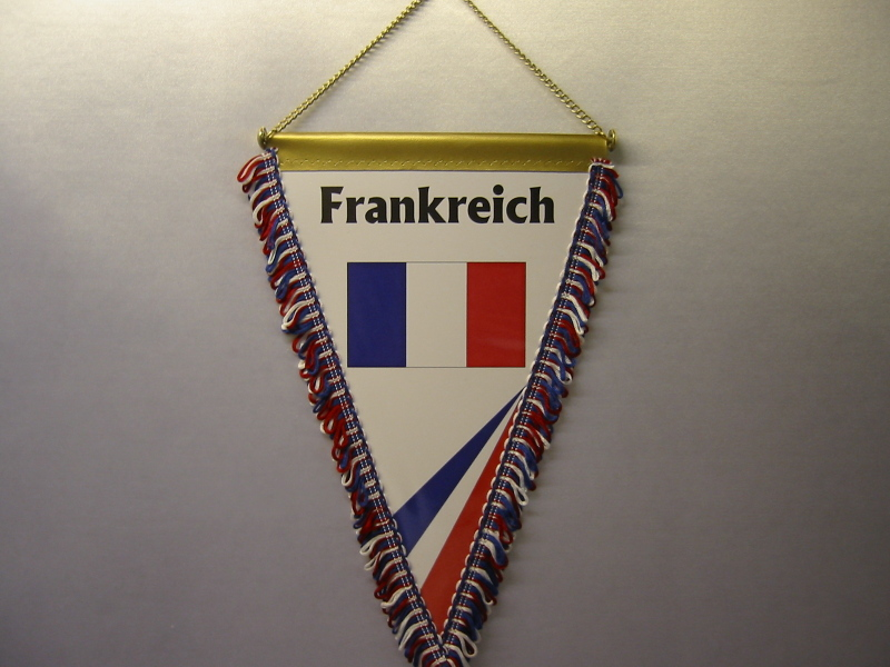 Wimpel Groesse 20/28 Frankreich
