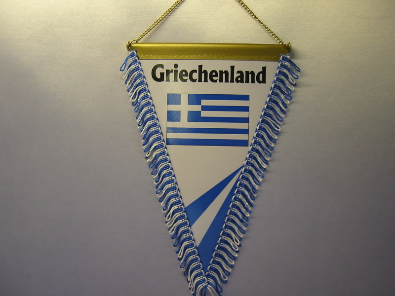 Wimpel Groesse 20/28Grichenland