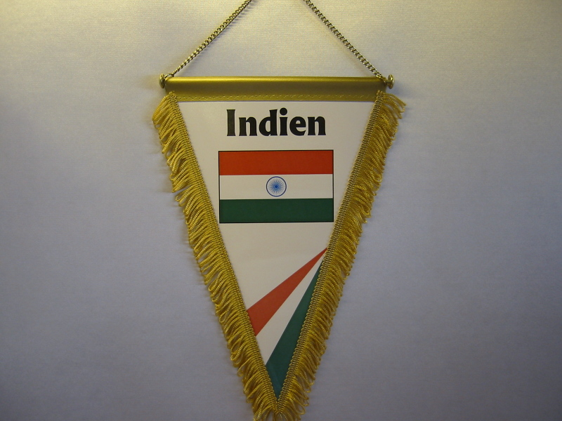 Wimpel Groesse 20/28 Indien