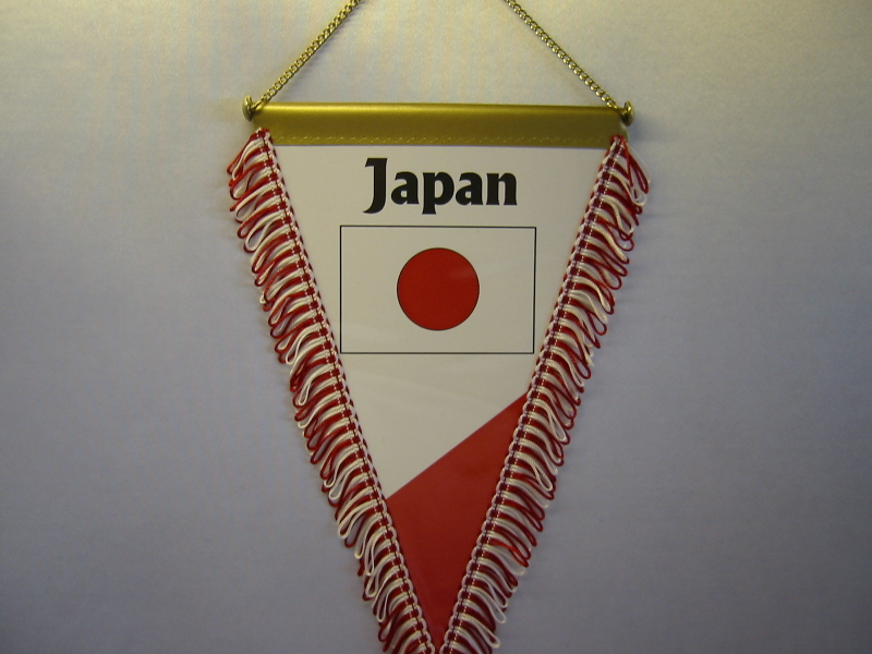 Wimpel Groesse 20/28 Japan