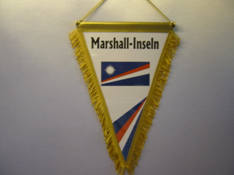 Wimpel Groesse 20/28 Marshall-Inseln