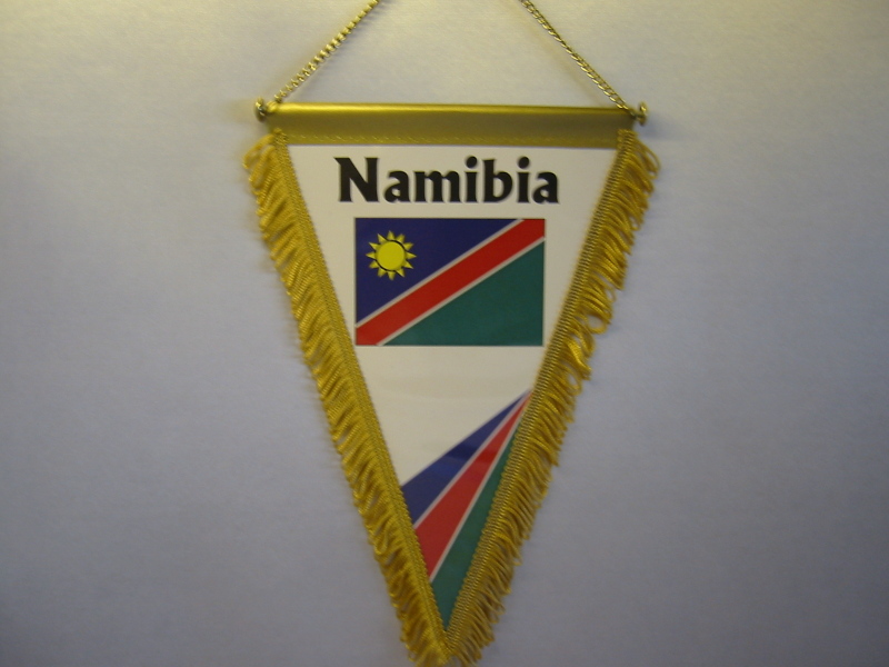 Wimpel Groesse 20/28 Namibia