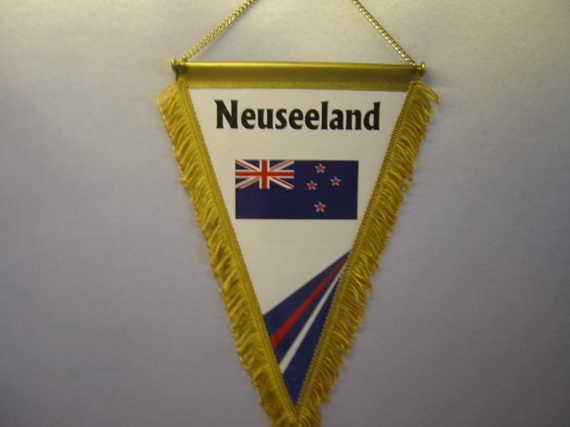 Wimpel Groesse 20/28 Neuseeland