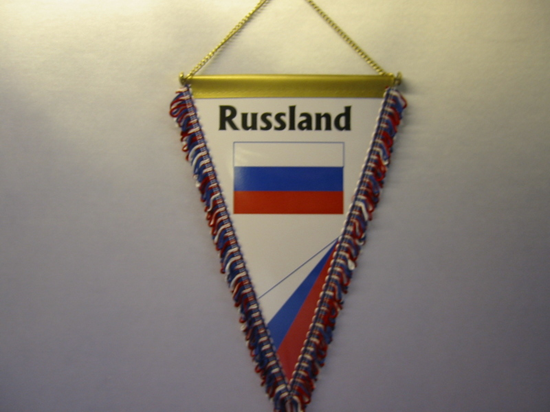 Wimpel Groesse 20/28 Russland