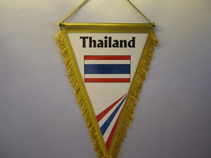 Wimpel Groesse 20/28 Thailand